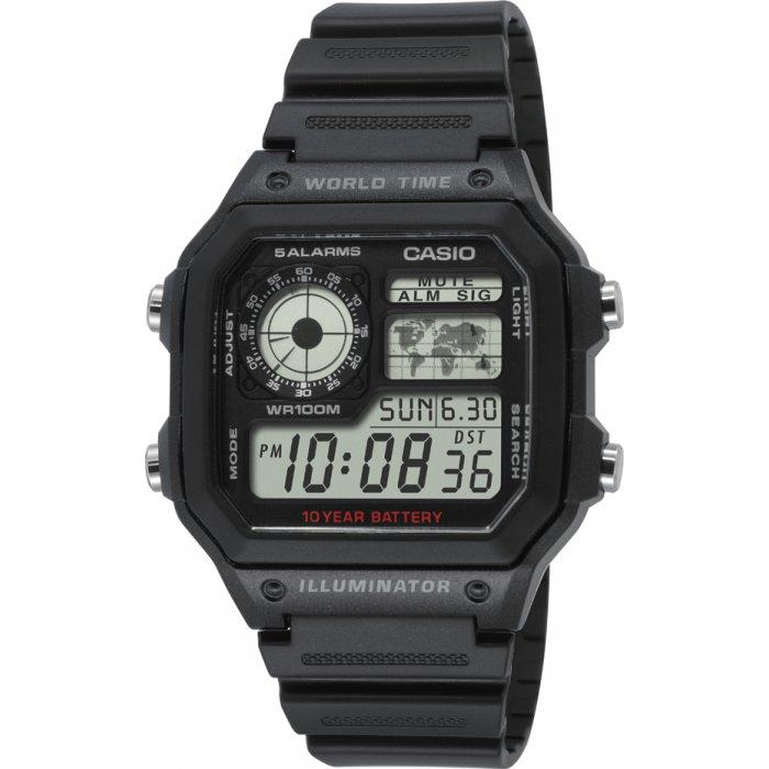Pánske hodinky Casio AE-1200WH-1AVEF  0a3fdc04b39