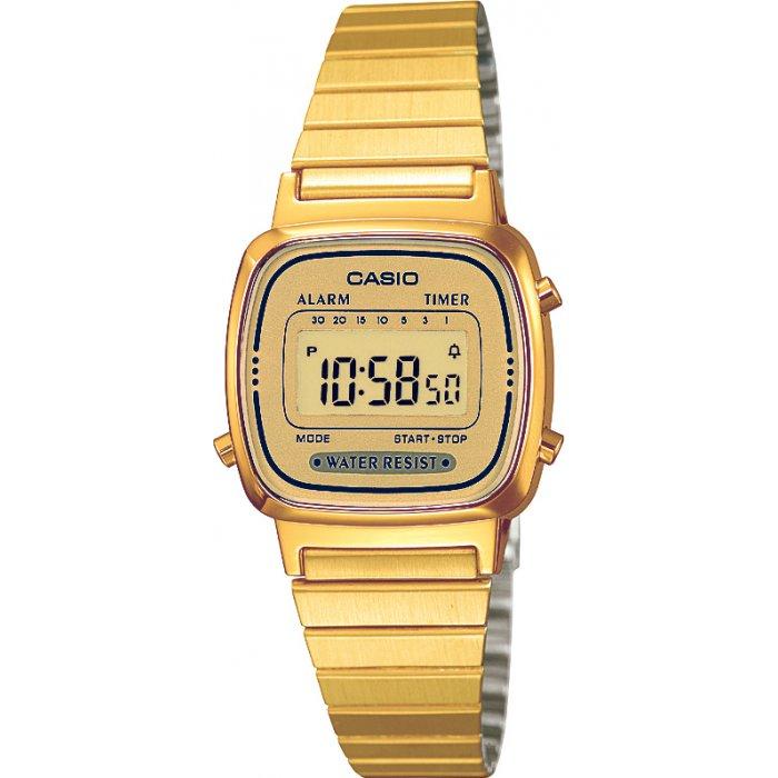 Dámske hodinky Casio LA 670GA-9  a11ae05e76