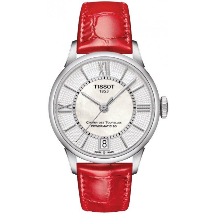 Dámske hodinky Tissot CHEMIN DES TOURELLES T099.207.16.118.00 ... e2d7f42ec67