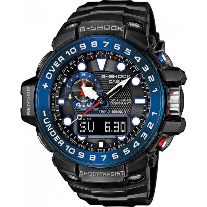 Pánske hodinky Casio GWN 1000B-1B  7d98d531383