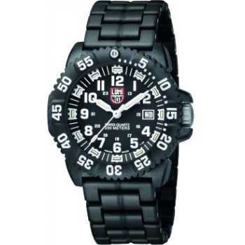 Pánske hodinky Luminox 3052 (New Navy Seals 3050 - PU strap, colored numbers)