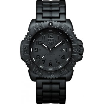 Pánske hodinky Luminox 3052.BO (New Navy Seals 3050 - PU strap, colored numbers)