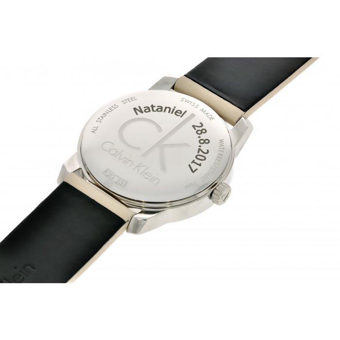 0906e5707 Gravírovanie textu na zadné viečko alebo na pracku hodiniek ...