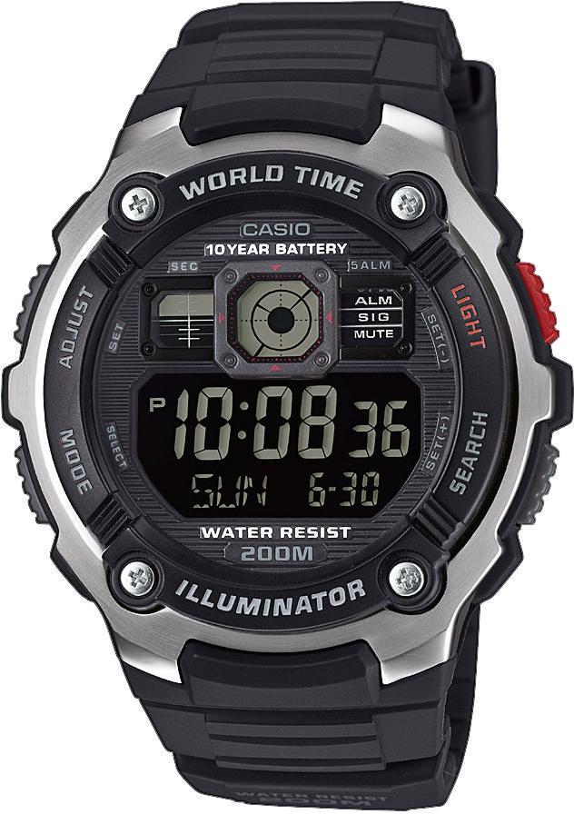 Pánske hodinky Casio AE 2000W-1B
