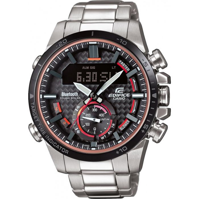 Pánske hodinky Casio ECB 800DB-1A  9fdbdbf3a1