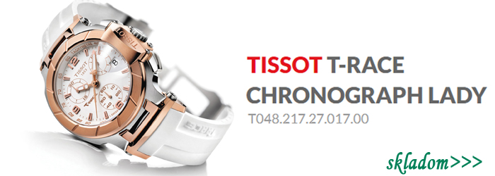 TISSOT T-RACE CHRONOGRAPH LADY T048.217.27.017.00