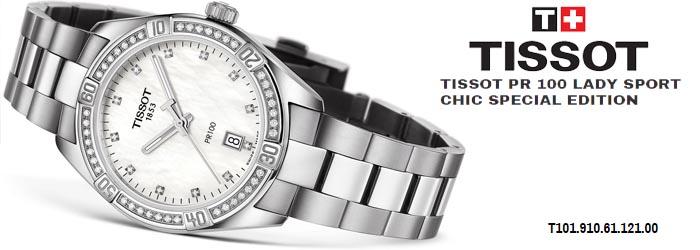 be731d2c23 Tissot PR 100 SPORT CHIC DIAM T101.910.61.116.00