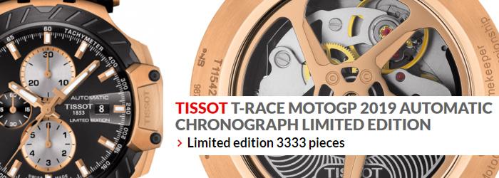 cfc70dfd7f TISSOT T-RACE MOTOGP 2019 AUTOMATIC CHRONOGRAPH LI